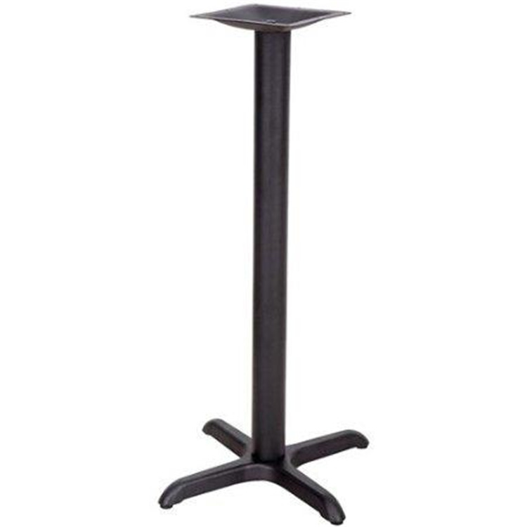 22'' x 22'' Restaurant Table X-Base with 3'' Dia. Column