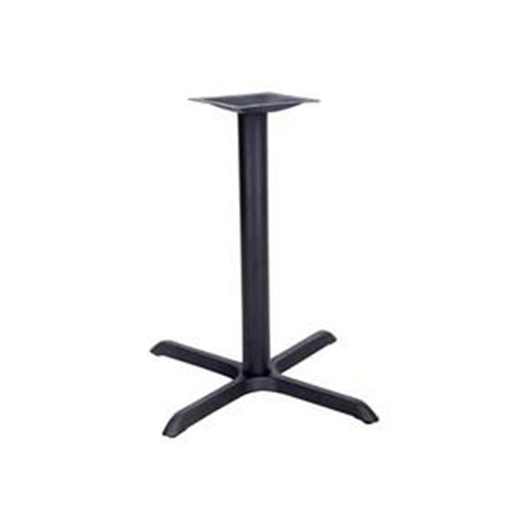 Flash Furniture 22'' x 30'' Restaurant Table X-Base with 3'' Dia. Column (Base Only)