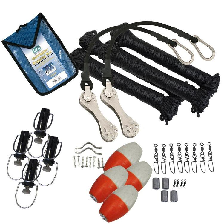 TACO Premium Double Rigging Kit f/2-Rigs on 2-Poles