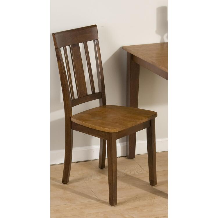 Kura Espresso/Canyon Gold Dining Chair
