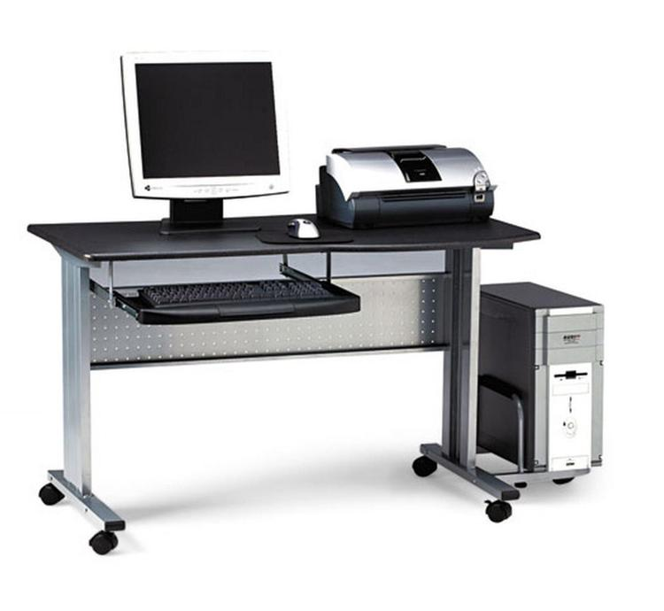 Mobile Computer Worktable