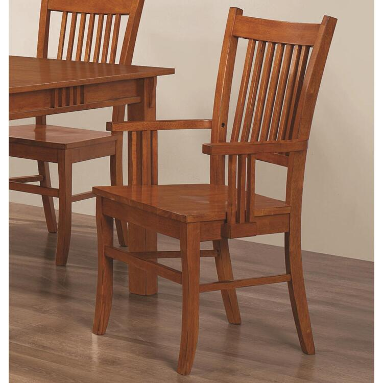 Coaster Marbrisa Mission Arm Chair - Set of 2