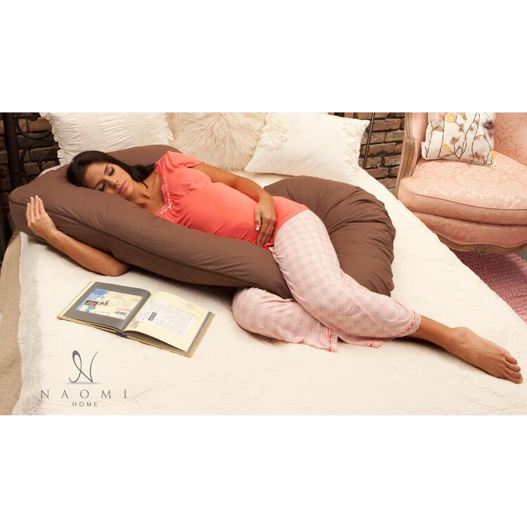Naomi Home Cozy Hugger Body Pillow