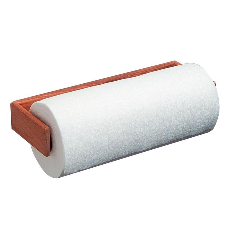 Whitecap Teak Wall-Mount Paper Towel Holder