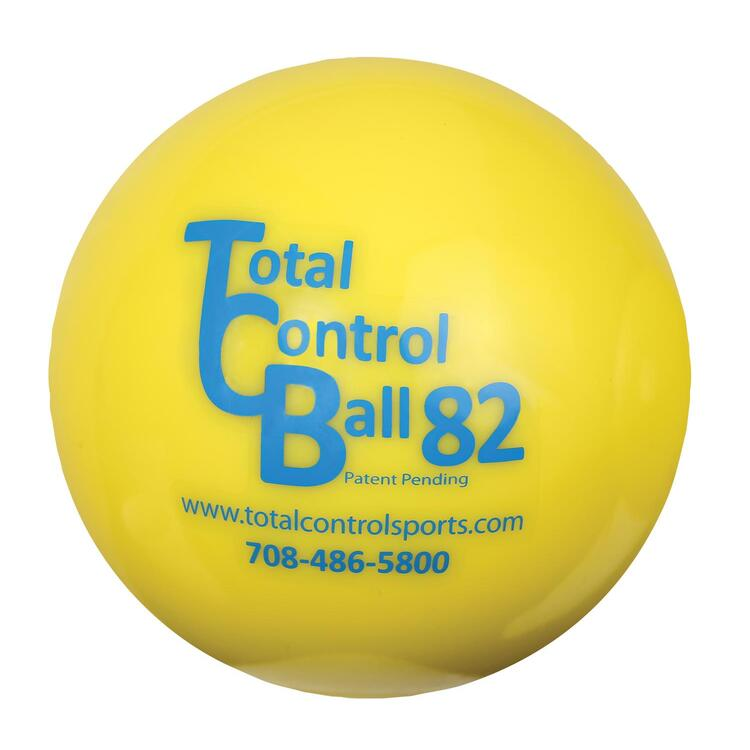 Total Control Balls 82 Softball Weighted Training Hitting Batting Aid Pack 6