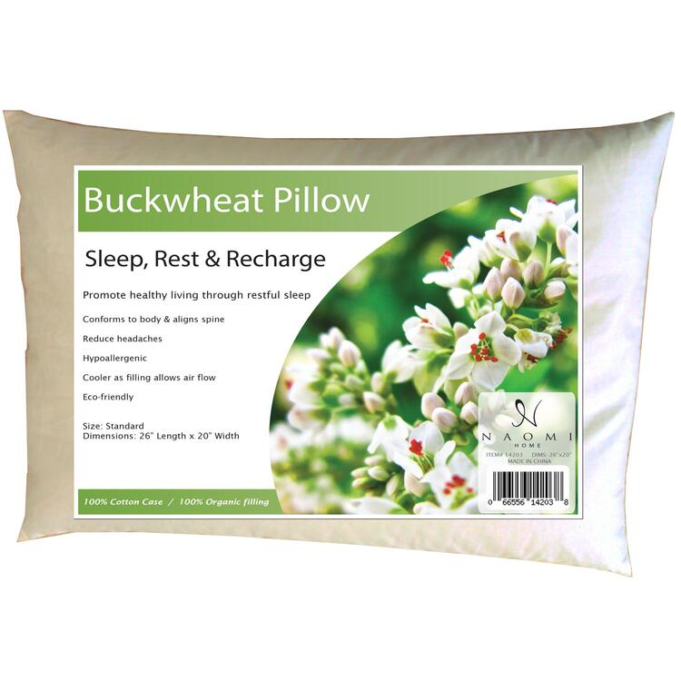 Naomi Home Buckwheat Pillow