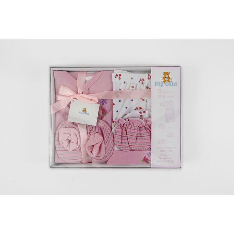 Big Oshi 5 Piece Layette Gift Set