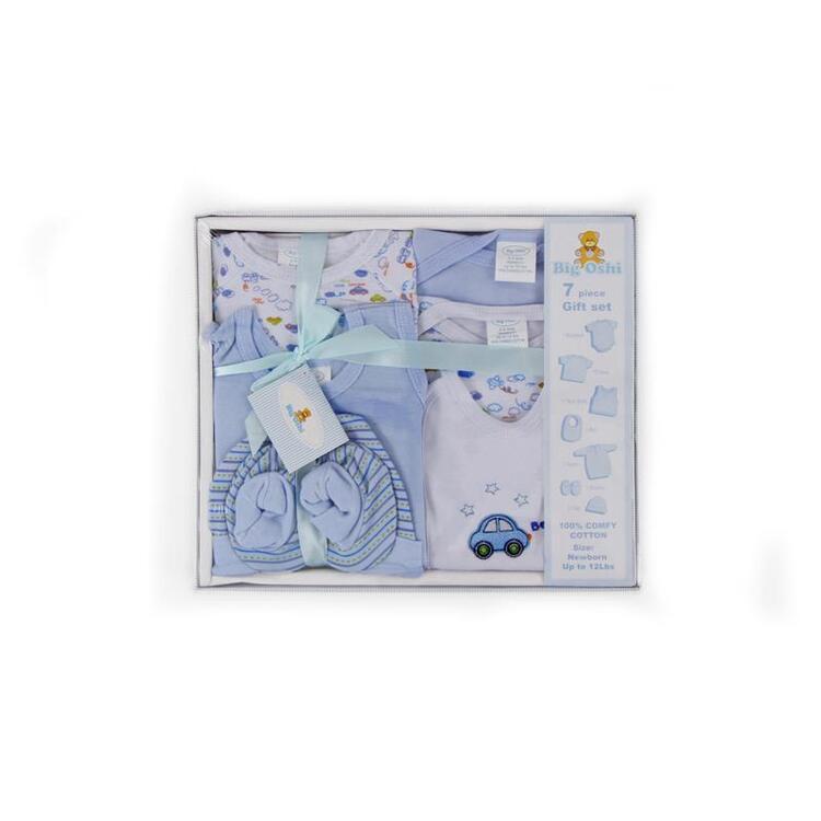 Big Oshi 7 Piece Layette Gift Set