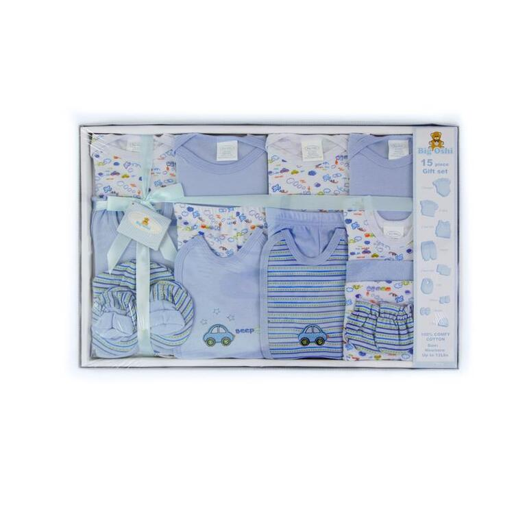 Big Oshi 15 Piece Layette Gift Set