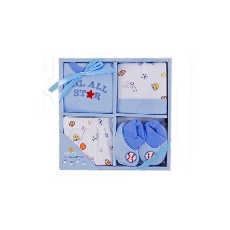 Big Oshi 4 Piece Layette Gift Set
