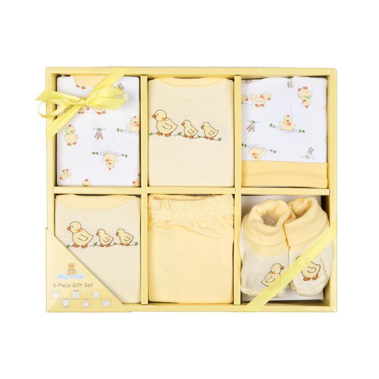Big Oshi 6 Piece Layette Gift Set