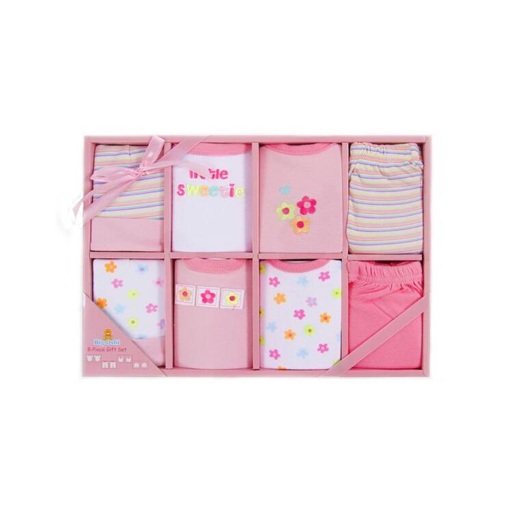 Big Oshi 8 Piece Layette Gift Set