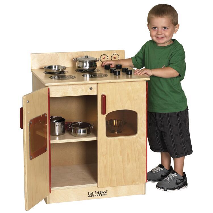Birch Play Kitchen - Stove