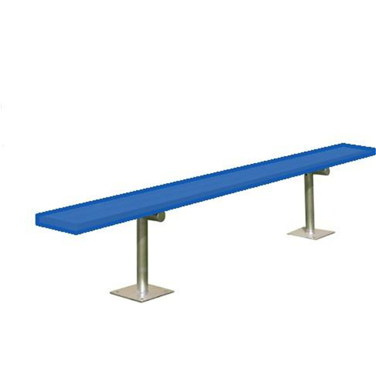BSN Sports Powder-Coated Surface-Mount Player's Bench Without Back
