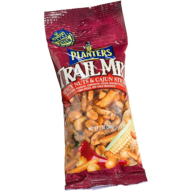 Planters Trail Mix - Spicy Nuts & Cajun Sticks