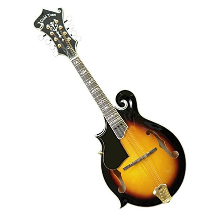 Gm-70 Professional F-Style Mandolin For Left Hand Players