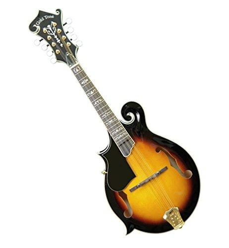 Gold Tone Gm-70 Professional F-Style Mandolin For Left Hand Players