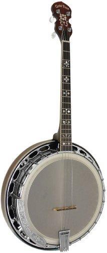 Professional 4-String Irish Tenor Resonator Banjo with Flange