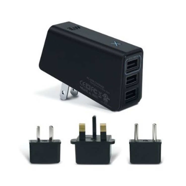 Triple USB AC Adapter