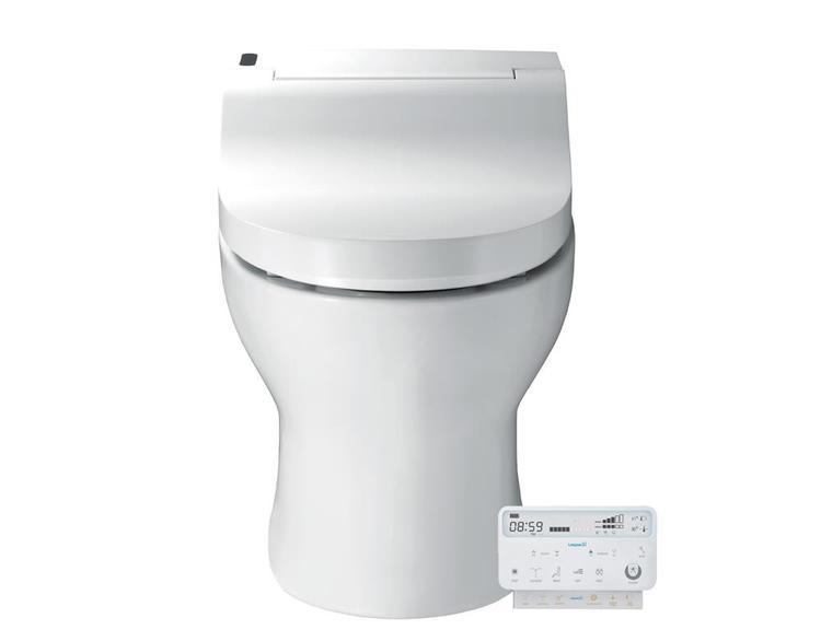 Fully Integrated Bidet Toilet Combo
