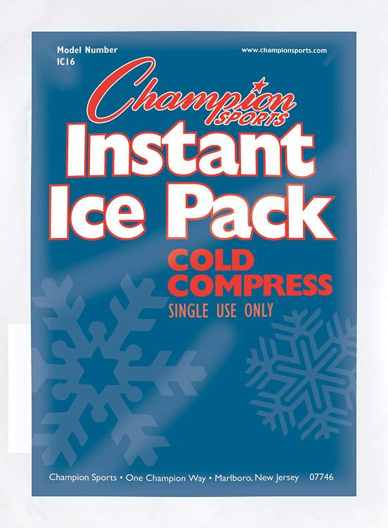Champion Sports Instant Cold Compress