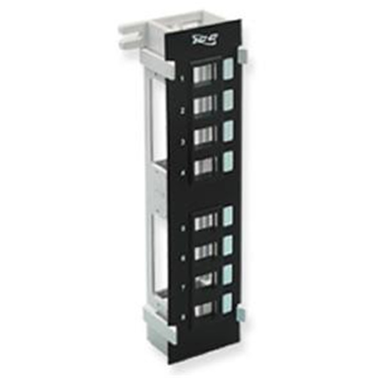 Patch Panel- Blank-Vertical-8-Port Flush