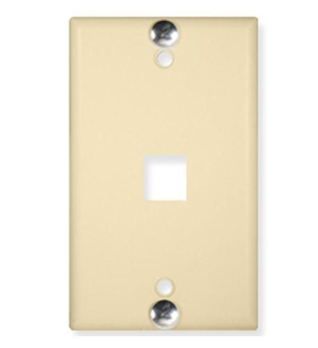 Wall Plate- Phone- Flush- 1-Port