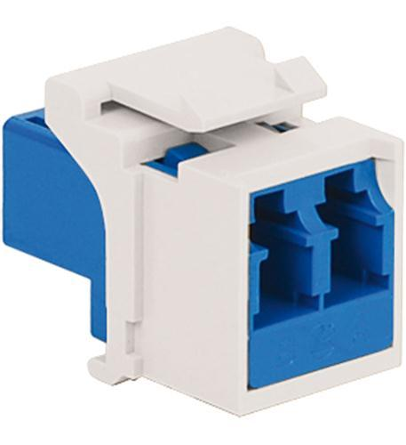 Module Fiber Optic- Lc- Duplex- White