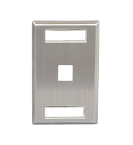 Faceplate- Id- Stainless Port