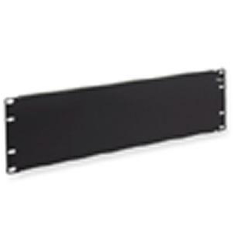 Panel- Cable Management- Blank- 3 Rms
