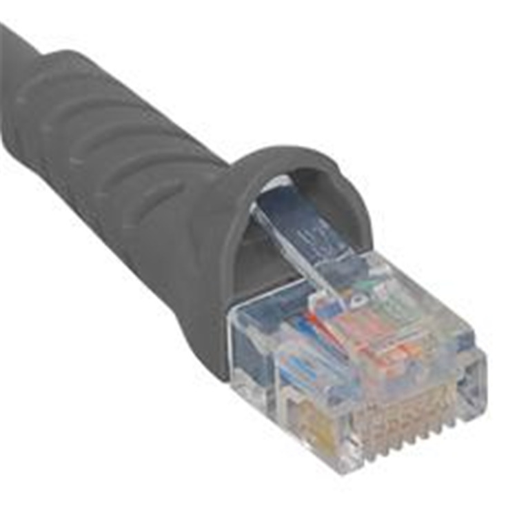 Patch Cord- Cat 5e Booted- 25 Ft- Gray