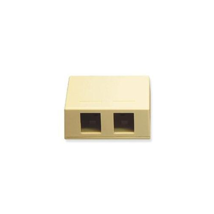 Ic107sb4wh  Surface Box- 4 Port White