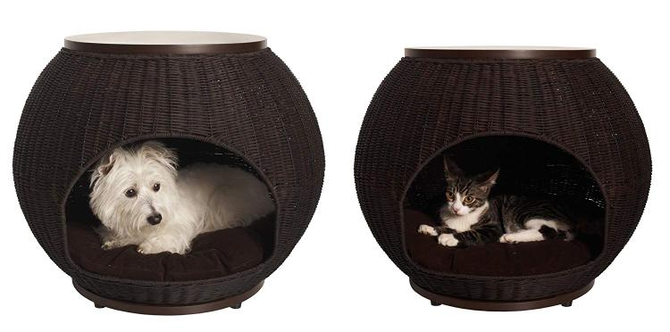The Refined Canine Igloo Pet Bed Deluxe [Item # IGL-FR-DX-ES]