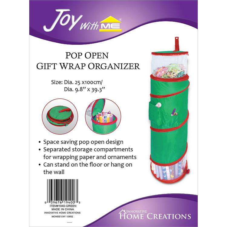 Pop Open Gift Wrap Organizer-39.3