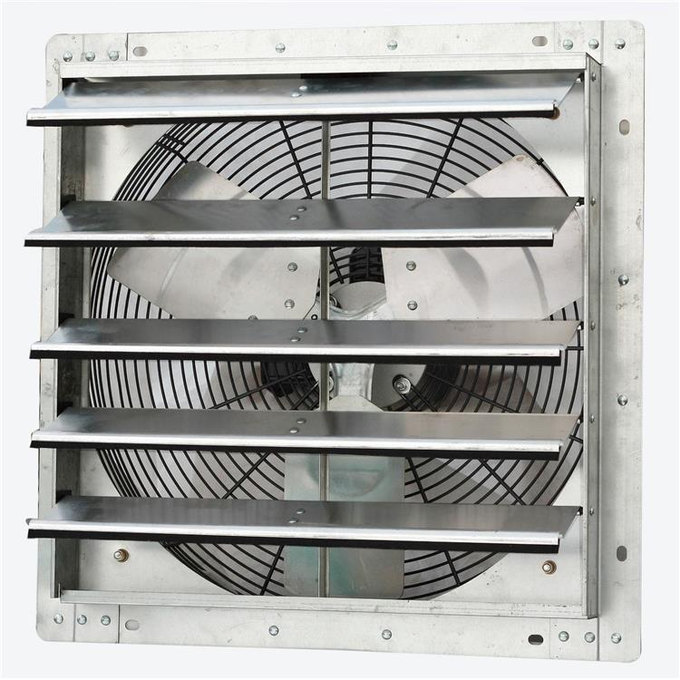 iLIVING 18 Inch Variable Speed Shutter Exhaust Fan, Wall-Mounted