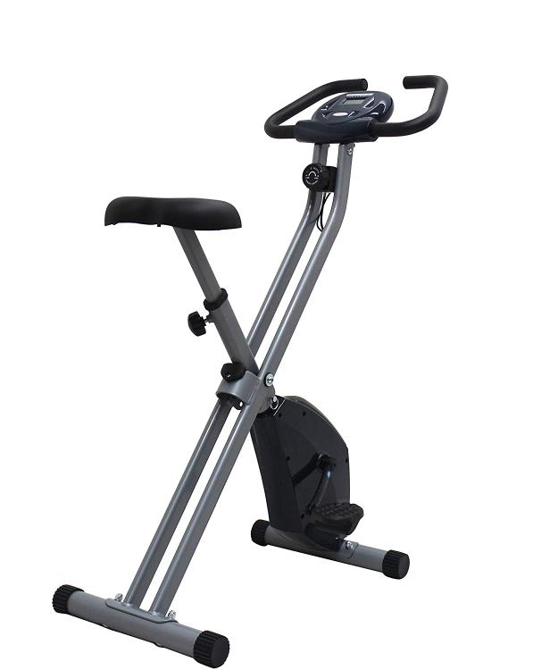 iLIVING Folding Upright Bike with Calorie Counter
