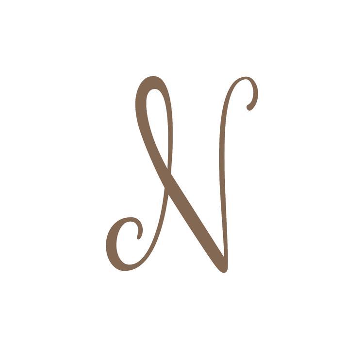 Precision Metal Art Initial Monogram Letter