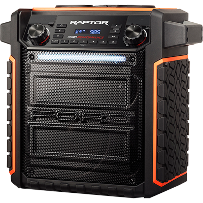 Port. Stereo, Raptor, Wireless/MP3/AM-FM