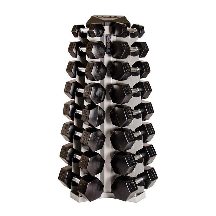 8 Pair Vertical Dumbbell Rack