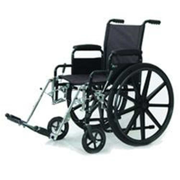 Economy Wheelchair, Style Fixed Arm with Swingaway Footrest