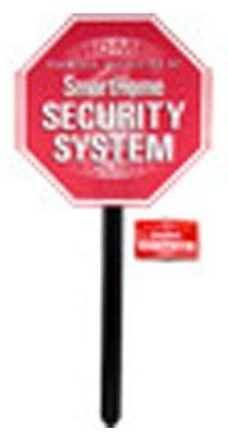 GE 45400 Security Yardstake Sign with Window Stickers