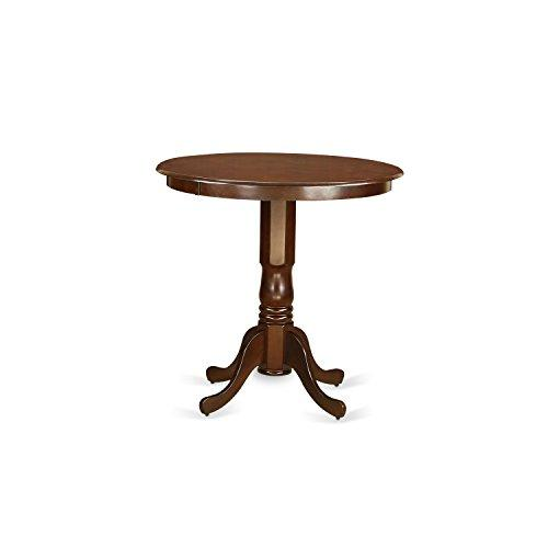 Jackson Counter Height Table in Buttemilk and Cherry Finish