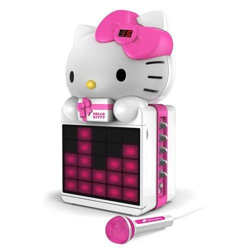 HELLO KITTY KT2008B Karaoke System with LED Light Show