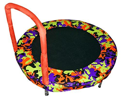 48 in. Orange Camo Bouncer