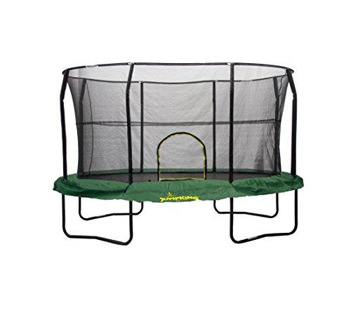 8 ft. by 12 ft. Green Trampoline Enclosure Combo