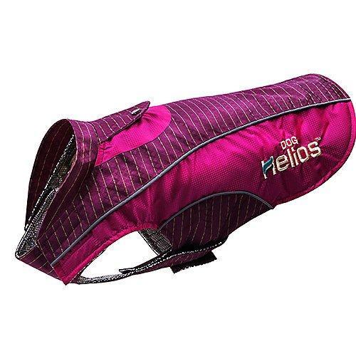 Dog Helios 'Reflecta-Bolt' Sporty Performance Tri-Velcro Waterproof Pet Dog Coat Jacket W/ Blackshark Technology