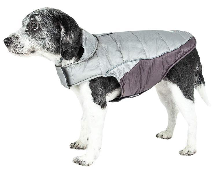 Helios Hurricane-Waded Plush 3M Reflective Dog Coat w/ Blackshark technology