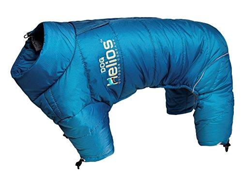 Helios Thunder-crackle Full-Body Waded-Plush Adjustable and 3M Reflective Dog Jacket