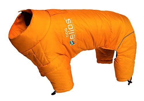 Helios Thunder-crackle Full-Body Waded-Plush Adjustable and 3M Reflective Dog Jacket