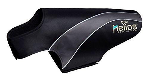 Helios Octane Softshell Neoprene Satin Reflective Dog Jacket w/ Blackshark technology [Item # JKHL7BKLG]